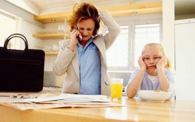 Alergia a alimentos y ansiedad materna
